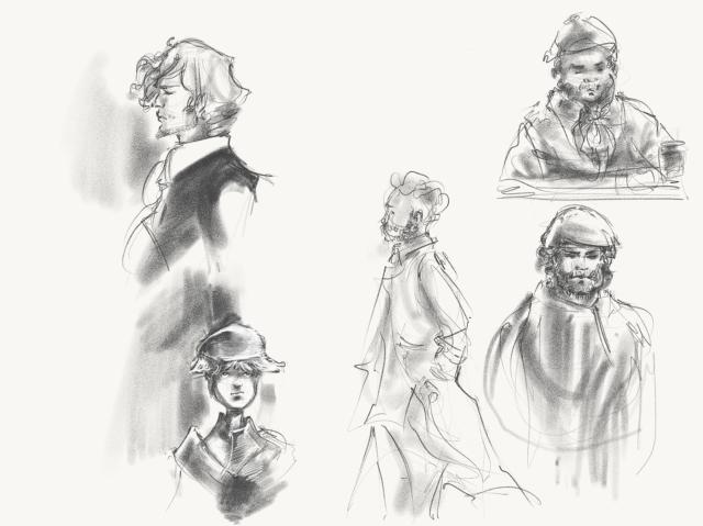 period-sketches